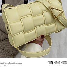 首爾美人✅ZARA原單法國小眾編織包枕頭包❤黑色/湖藍色/黃色/米白色/灰色