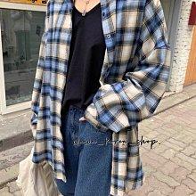 正韓:格子外套(4色)