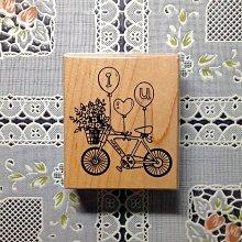 貝登堡印章~G章(GT-5179)我愛你腳踏車