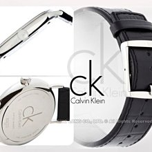 CASIO手錶專賣店 國隆 CK手錶 Calvin Klein K3W211C1 黑面 優雅紳士錶_保固發票