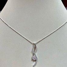 總重1.21克拉天然鑽石項鍊,獨特設計款式優雅氣質高雅,超值優惠價82800元,加送14K金項鍊,53分八心八箭完美車工,鑽石很白