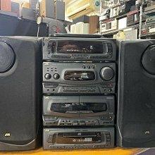 JVC MX-G7 高階床頭音響 EQ/CD/錄音座/收音機 所有功能正常 有遙控器 日本製