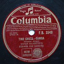 《Tino Gasta Rumba》78轉 10吋 蟲膠唱片 電木唱片