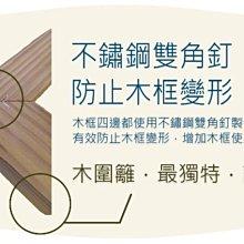 MIT台灣製造-熊的木生活【南方松圍籬木籬笆30*240有框格網】陽台DIY、菱形格網、防腐木圍籬【免運費】