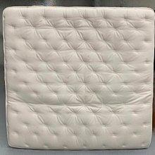 樂居二手家具(北) 便宜2手傢俱拍賣B90512*白色獨立筒雙人加大床墊*加大床組 床底 寢具 床架 租屋套房