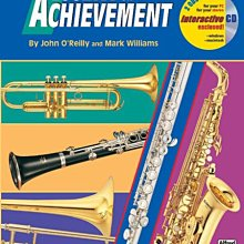 【599免運費】Accent on Achievement, Book 1【Clarinet】單簧管 AP.17084