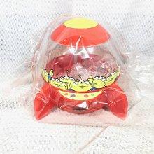 ☆Juicy☆日本 海洋迪士尼 DISNEY 迪士尼樂園 玩具總動員 三眼怪 火箭 糖果罐 糖果盒 公仔 擺飾 收納罐