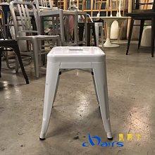 【挑椅子】Loft 復古/工業風 方鐵凳/餐椅。a chair 。(複刻品) CX-014