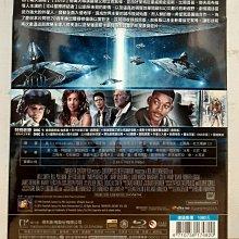 ╭☆影碴館☆╮**原版藍光BD~ID4:星際終結者 ~**(20週年雙碟鐵盒版,同時收錄  戲院版及導演加長版,現貨)