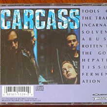 Carcass, Tools of the Trade, 1992 Earache