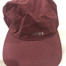 Mammut Baseball Cap GORE-TEX® 葡萄酒紅