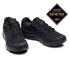=CodE= SALOMON OUTLINE GTX 防水登山野跑鞋(全黑) 412330 索羅門 避震 慢跑 健行 男