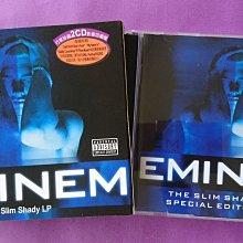 【鳳姐嚴選二手唱片】阿姆 EMINEM / 微暈 The Slim Shady LP (2CD影音加值版)