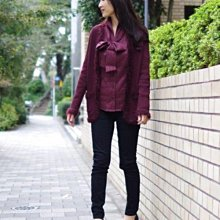 nara camicie 暗紅色酒紅色毛衣針織外套同日本ined,金安德森,Jill stuart