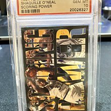 俠客 Shaquille ONeal 1994-95 Flair Scoring Power #5 PSA 10