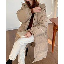 羽絨外套 DANDT 韓版寬鬆白鴨絨中長款外套(20 DEC)同風格請在賣場搜尋 SHA 或 歐美服飾