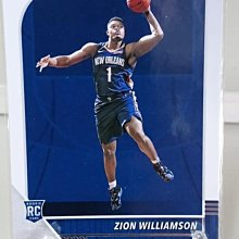 2019-20 HOOPS ZION WILLIAMSON RC卡
