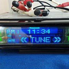"""典藏專區""""Panasonic""""國際CQ-DF802W觸控面板主機CD可後端連動片箱/50W*4刊登不含片箱//日本品牌"""