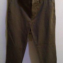 日本品牌Clear Impression軍綠色棉長褲與 anayi米 色褲合賣