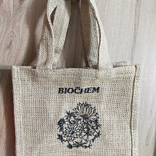 168生活館@雅聞 BIOCHEM 倍優 麻布提袋 蕭敬騰代言.全新品 手提袋,收納袋 文青袋 便當袋