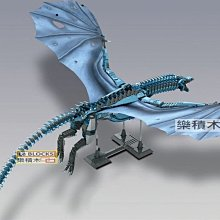 樂積木【當日出貨】第三方 權力遊戲 卓耿 韋賽利昂 巨龍 火龍 冰龍 冰與火之歌 狼兵 非樂高LEGO相容 K89