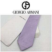 【皮老闆二店】近全新真品 ARMANI 手打領帶