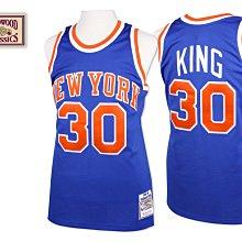 NBA M&N 紐約 尼克 Bernard King 球衣 Mitchell & Ness