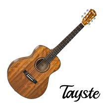 Tayste TS-25-36 全胡桃木 合板 36吋 旅行吉他 民謠吉他 小吉他 - 【他,在旅行】