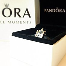 愛的小心思 慶祝情人節 Pandora 飾品 Castle & Crown Charm 城堡