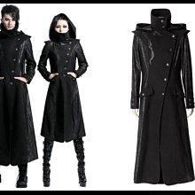 *mini & PUNK LOLO*黑暗哥德傳說-夜訪吸血鬼德古拉伯爵立領連帽墊肩大衣(男款Y-420)