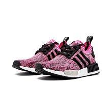 Adidas Nmd PK R1 BB2363 黑 桃紅 黑粉 雪花 編織 針織 3M 反光 女鞋 潮流 慢跑鞋
