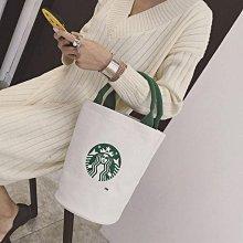 @@@   日本正品全棉 星巴克 印花手提袋 女士手提包 帆布袋 手拎時尚布包 購物袋星巴克