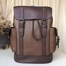 COACH 89898新款拼色雙肩登山旅行包 大容量後背包