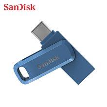 SanDisk Ultra GO 海軍藍 OTG 旋轉隨身碟 128G (SD-DDC3-NB-128G)