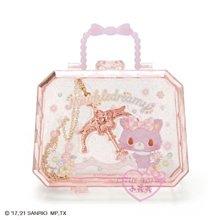 ♥小花花日本精品♥三麗鷗甜夢貓玫瑰金色造型項鍊配飾附收納盒~3