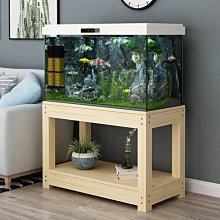 (台灣)實木魚缸架子魚缸底柜魚缸柜子實木底座魚缸架客廳水族箱架子定做
