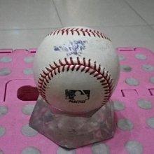棒球天地--5折賠錢出--K博士 龍捲風投手 野茂英雄 HIDEO NOMO 簽名大聯盟比賽實戰球.字跡漂亮