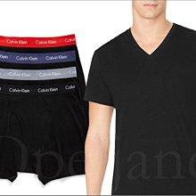 Calvin Klein CK卡文克萊內著內褲四角褲+黑色短T=2件 內衣短袖一件 S M L XL號 愛Coach包包
