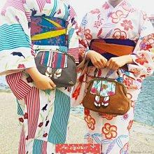 Mis Zapatos日本新款多way簡約日系和服手拿包斜背包拎包斜胯包 晚宴包 和風 日式