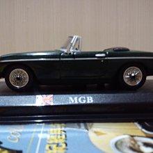*內壺春角落光陰* 二十世紀經典名車周刊 No 10 M.G. MGB 1/43 模型車