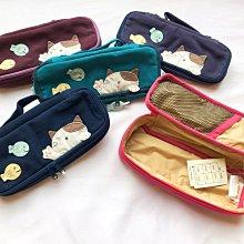 日本卡拉貓~Gon醬小魚內防水筆袋 工具袋