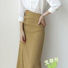 不規則包臀裙~~艾菲兒=現貨、韓版、預購