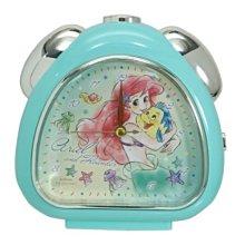 4165本通 迪士尼 公主 小美人魚 艾莉兒 續秒針三角形鬧鐘 4548626128341 下標前請詢問