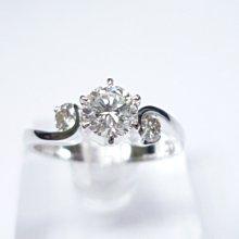 【連漢精品】天然鑽石主石47克拉 G/VS1/完美車工女鑽戒(訂婚.送禮 )