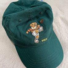 Polo bear Ralph Lauren by Polo 綠色polo 熊 刺繡 polo bear 圖案棒球帽 美國官網購入 全新正品 現貨在台
