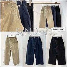 【2021山東七月號】YOOM薄棉手感舒服鬆緊彈性復古小直筒寬褲 SLY  210723