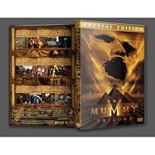 「木乃伊三部曲/神鬼傳奇1-3」盒裝.國英雙語+花絮.高清DVD碟片