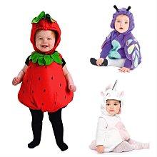 【現貨】萬聖節 周歲派對寶寶寫真聖誕節 嬰兒女嬰男嬰幼兒童拉鍊連身連帽外套造型服表演服外貿原單卡特carters 全家福