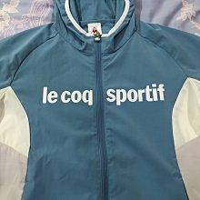 Le Coq Sportif 女款 抗風防撥水 輕量快乾 連帽外套
