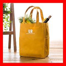 全新現貨【URBAN RESEARCH】日系質感購物袋-芥末黃